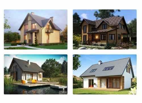 Каркасные дома недорого